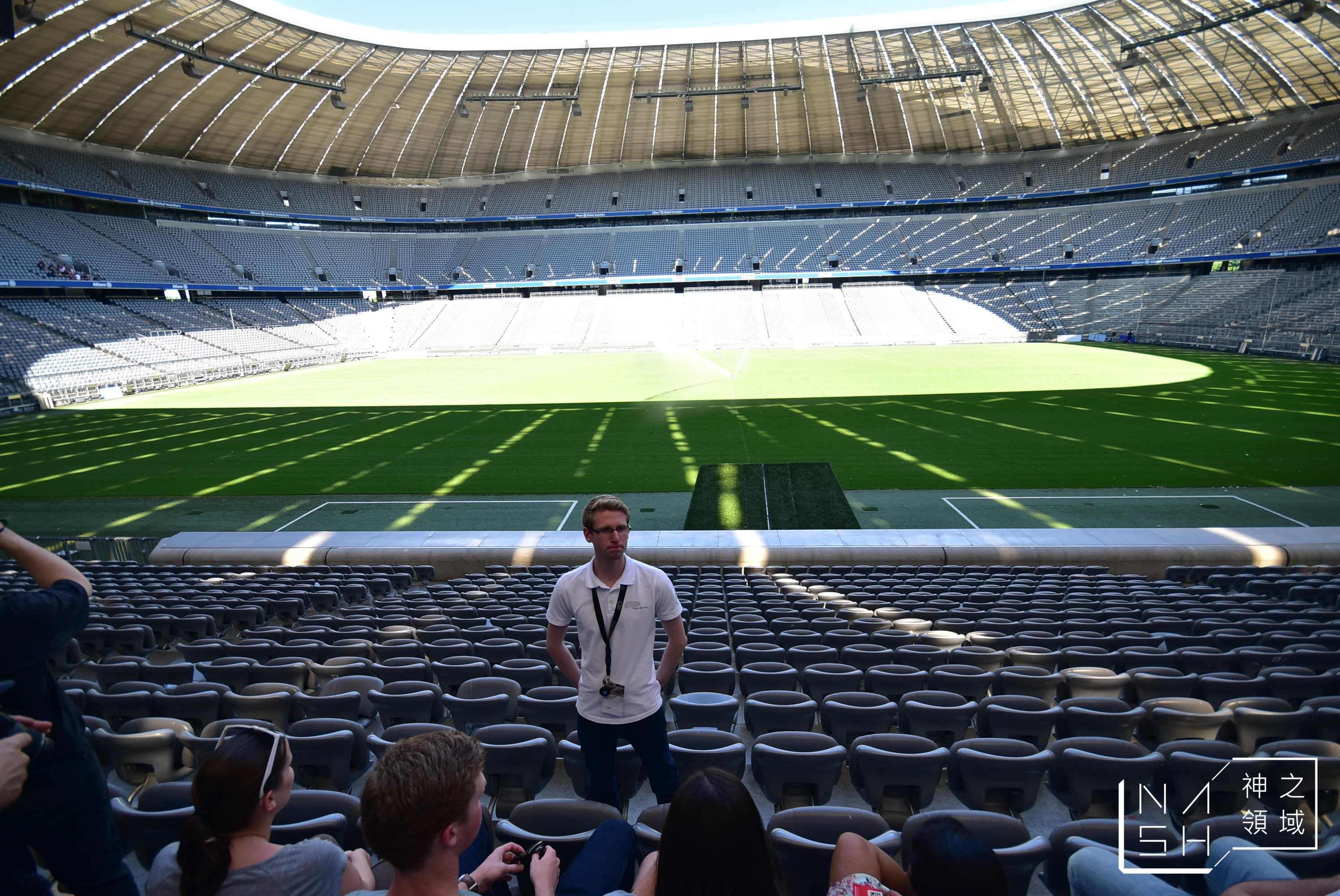 拜仁慕尼黑主場球場導覽,拜仁慕尼黑,拜仁球場導覽,安聯球場導覽 @Nash,神之領域