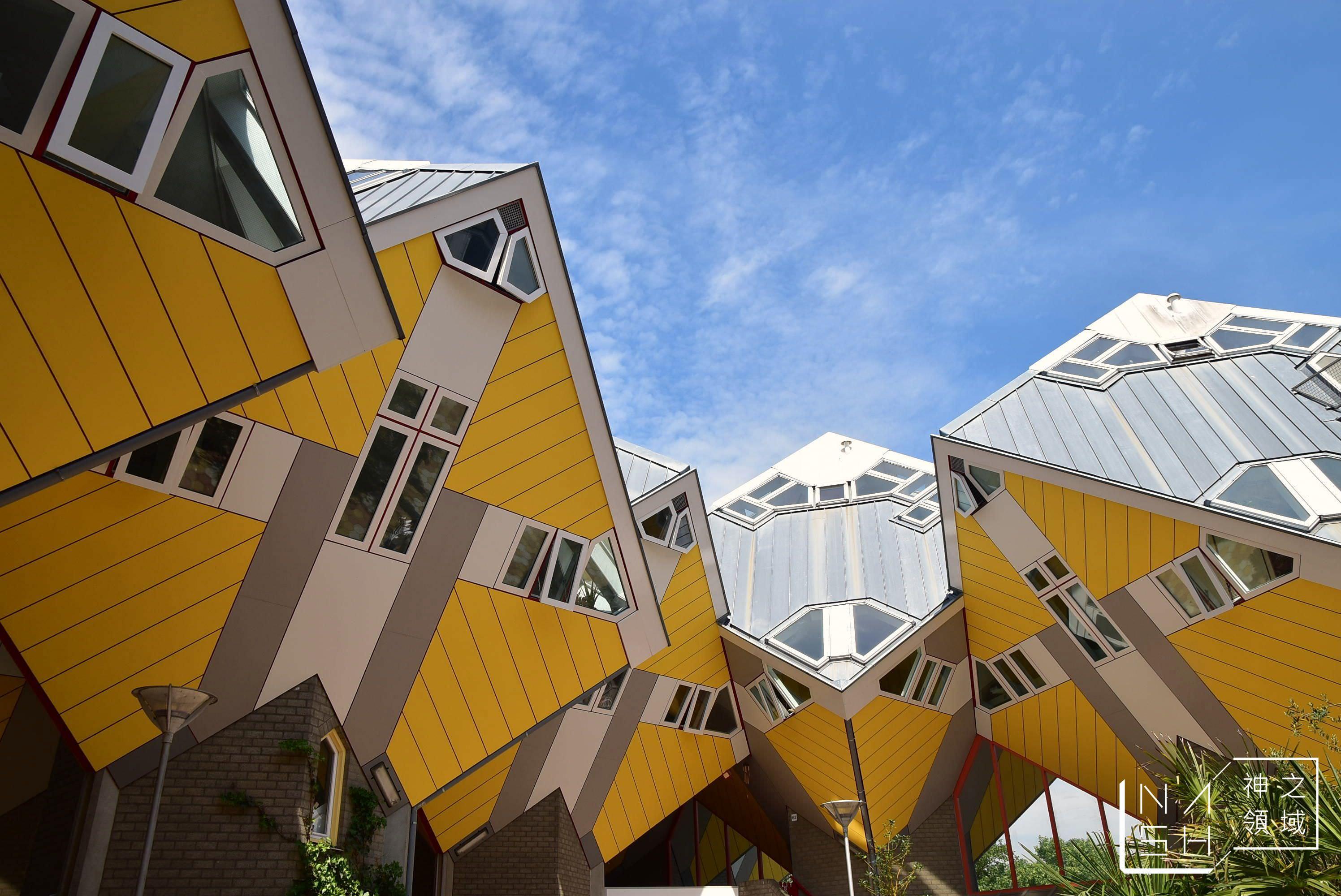 鹿特丹市集,鹿特丹方塊屋,鹿特丹景點,鹿特丹交通 @Nash,神之領域