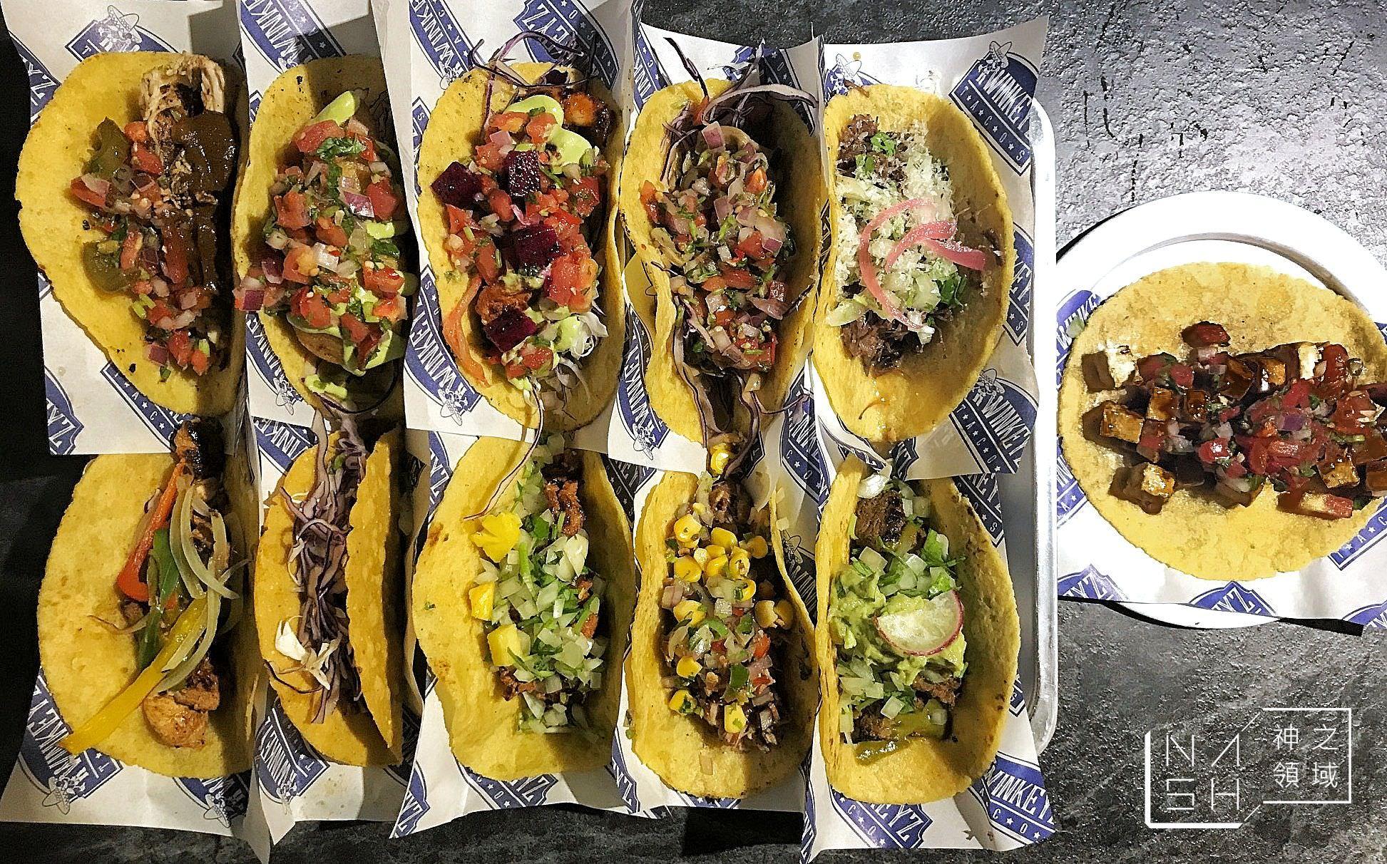 台北Taco推薦,捷運忠孝敦化美食推薦,Twinkeyz Tacos,塔可老爹 @Nash,神之領域