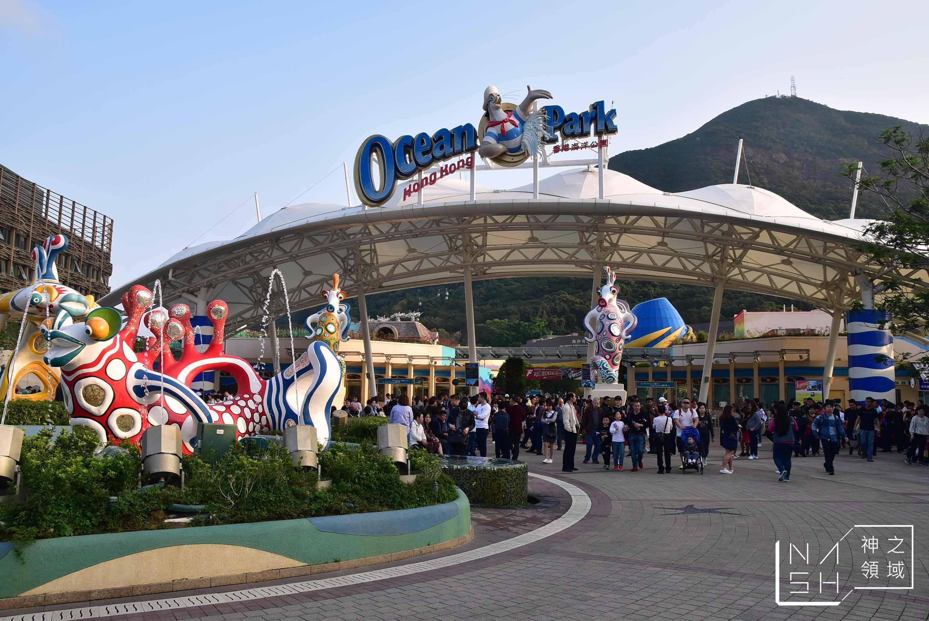 香港海洋公園,海洋公園門票優惠,海洋公園交通,海洋公園攻略 @Nash,神之領域