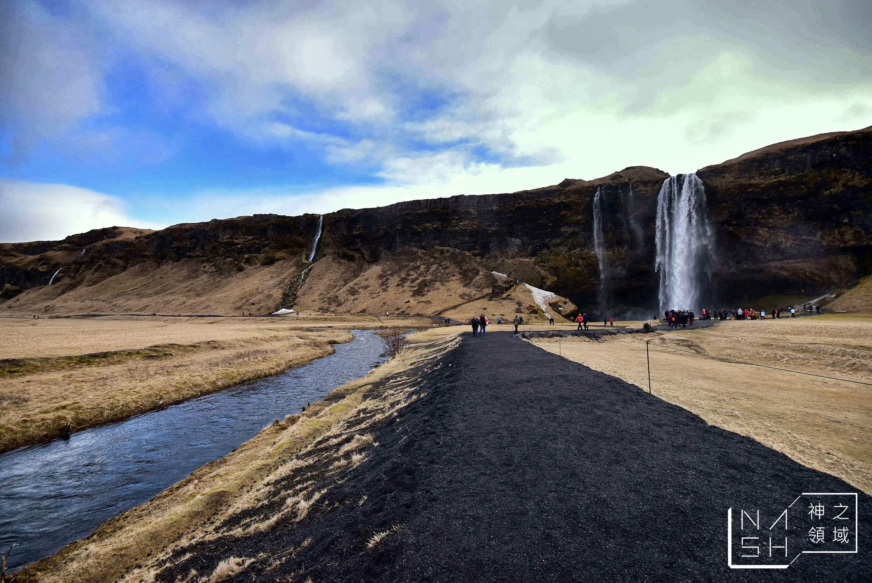 冰島自由行環島景點推薦,塞里雅蘭瀑布,Seljalandsfoss,冰島自助景點 @Nash,神之領域