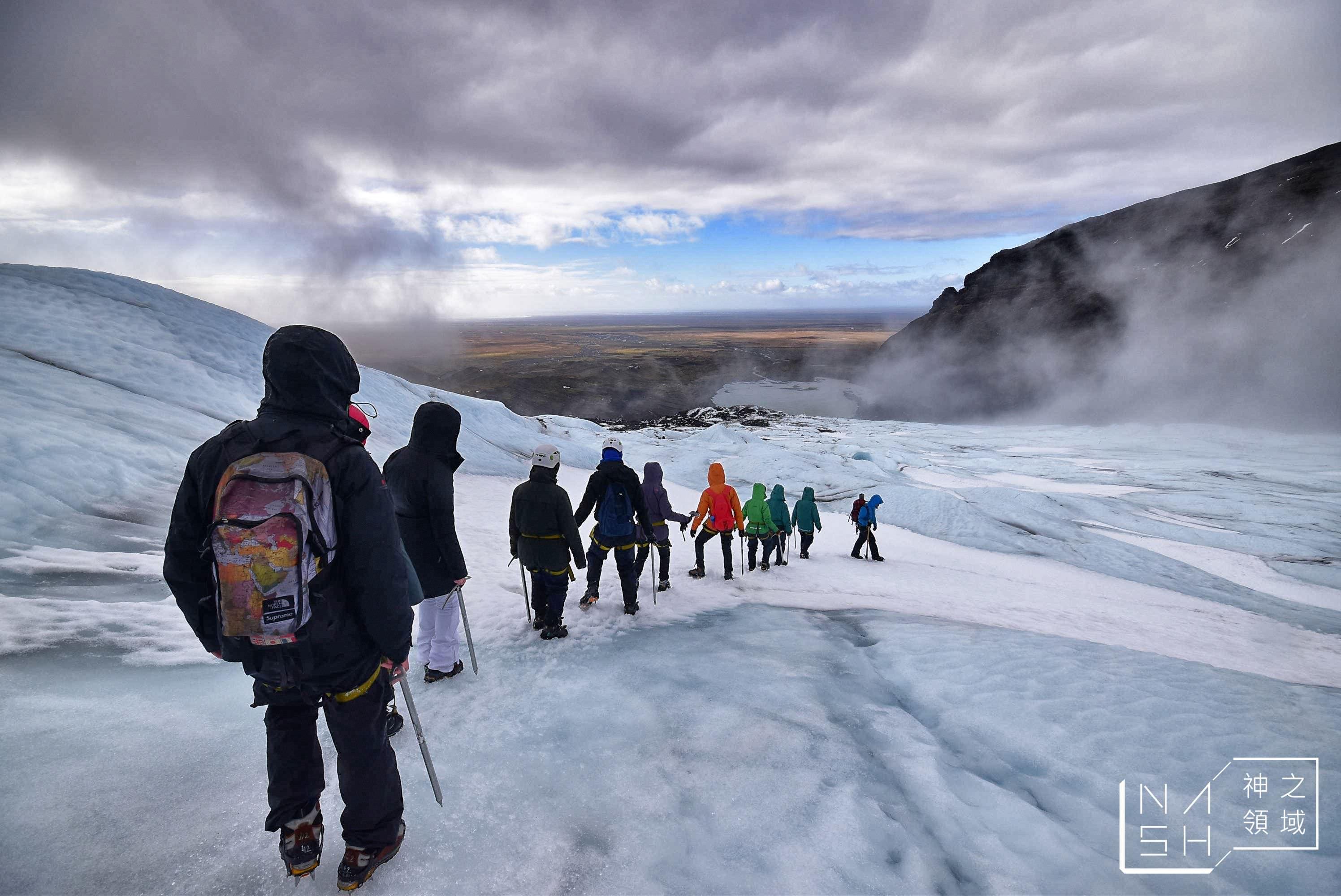 冰島自由行環島景點推薦,冰島自助景點,斯卡夫塔冰川健行,冰島冰川,冰島冰川健行,Guide to Iceland,Glacier Guides,Vatnajökull National Park,Skaftafell @Nash,神之領域