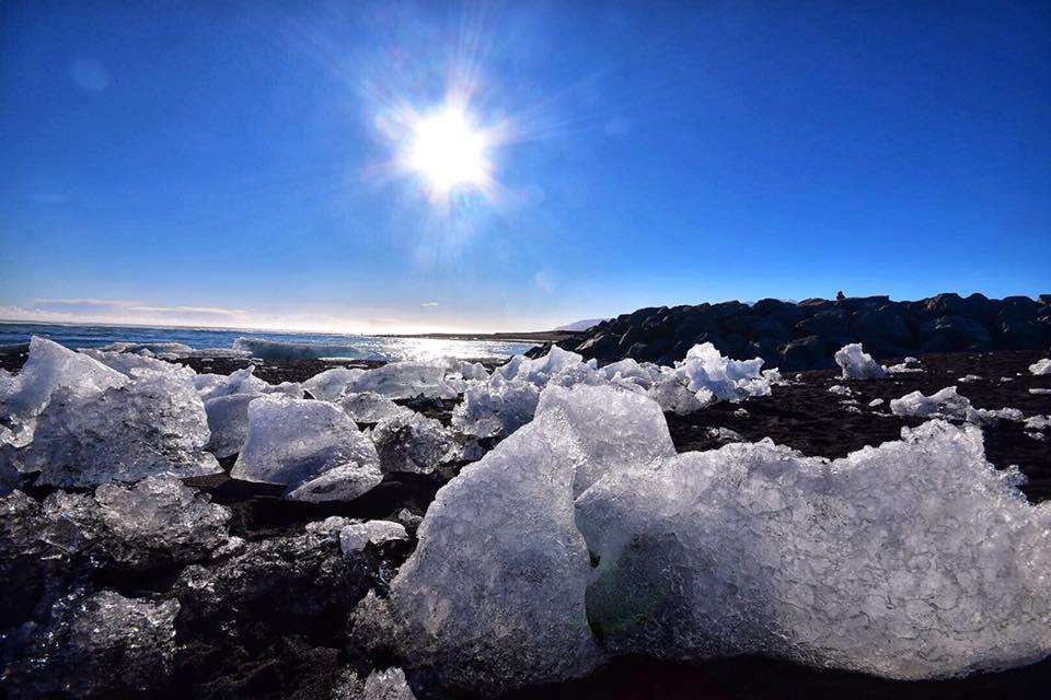 冰島自由行環島景點推薦,冰島自助景點推薦,鑽石海灘,鑽石沙灘,鑽石冰沙灘 @Nash,神之領域