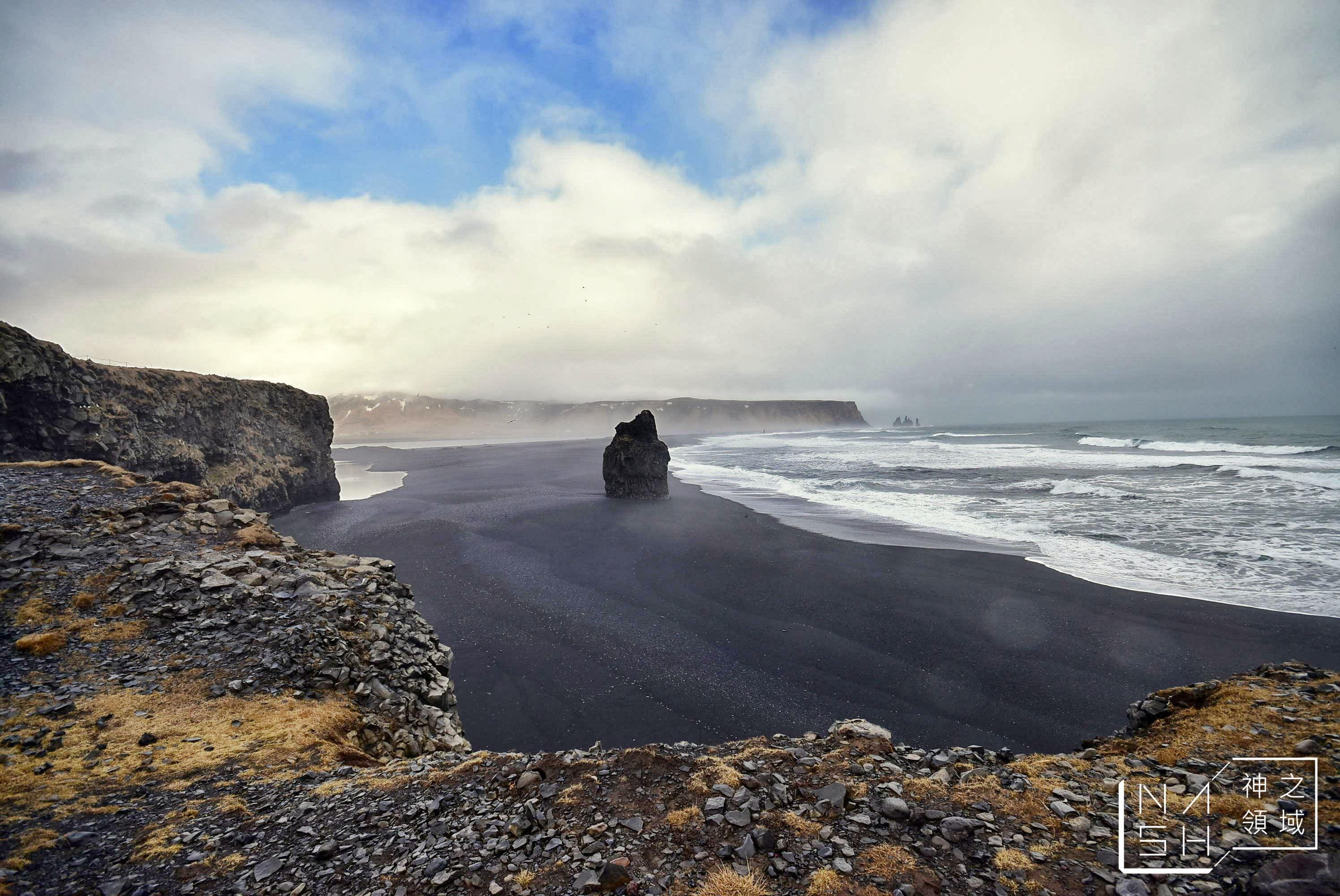 黑沙灘,Reynisfjara Beach,Kirkjufjara beach @Nash,神之領域