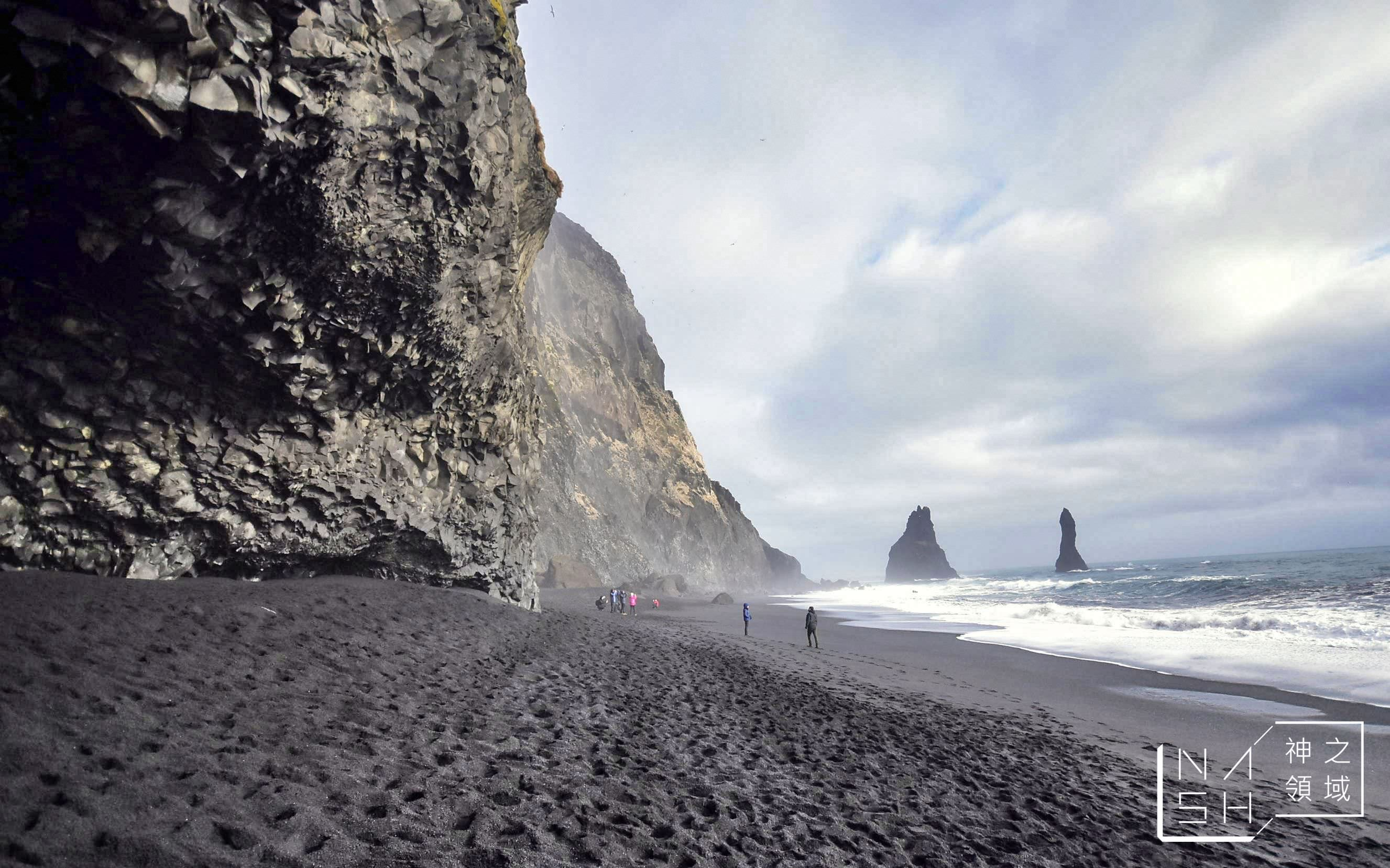 冰島自由行環島景點推薦,冰島自助景點推薦,黑沙灘,Reynisfjara Beach @Nash,神之領域