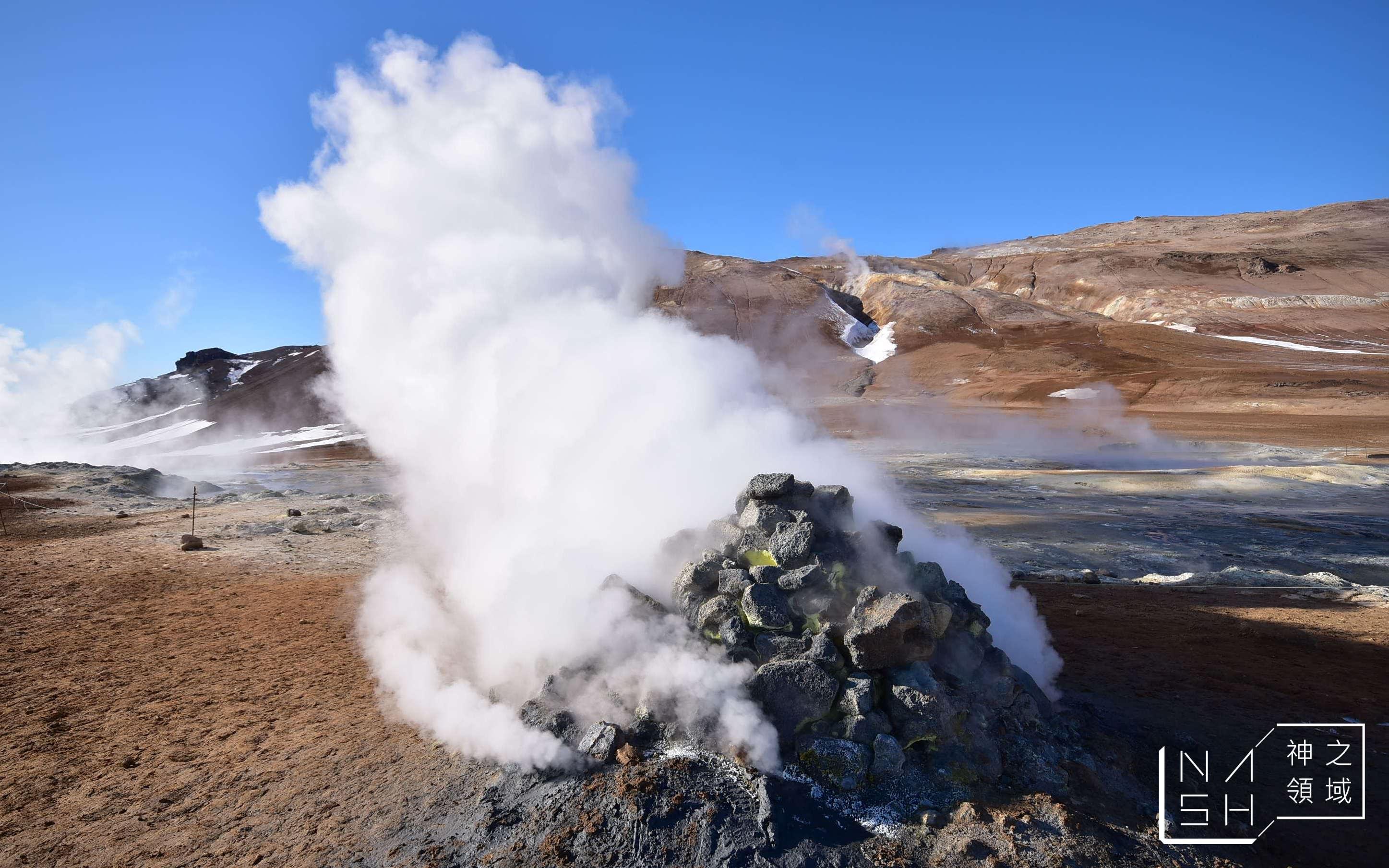 冰島自由行環島景點推薦,米湖景點推薦,NAMAFJALL HVERIR,冰島地熱谷 @Nash,神之領域
