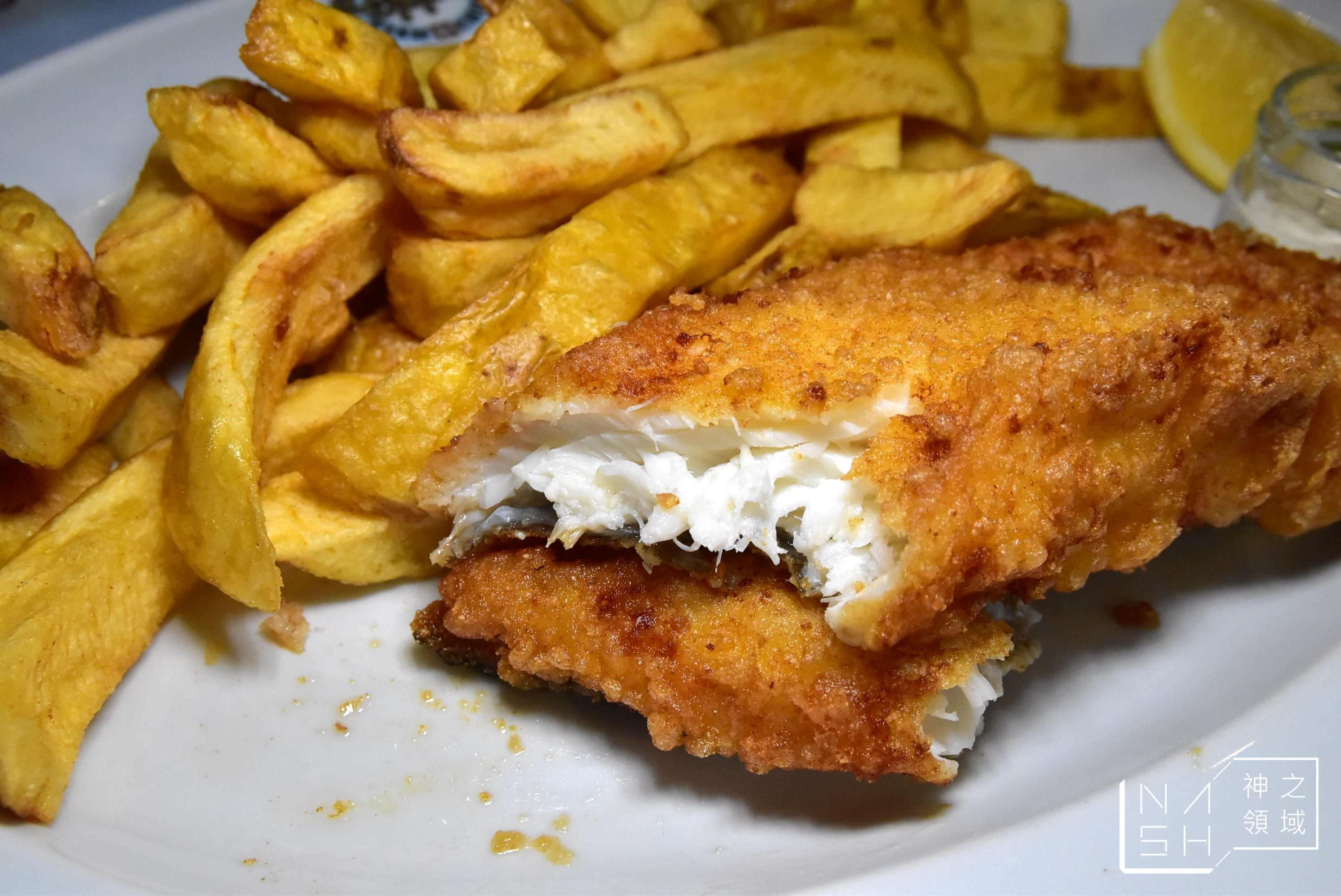 英國炸魚薯條推薦,英國美食推薦 @Nash,神之領域