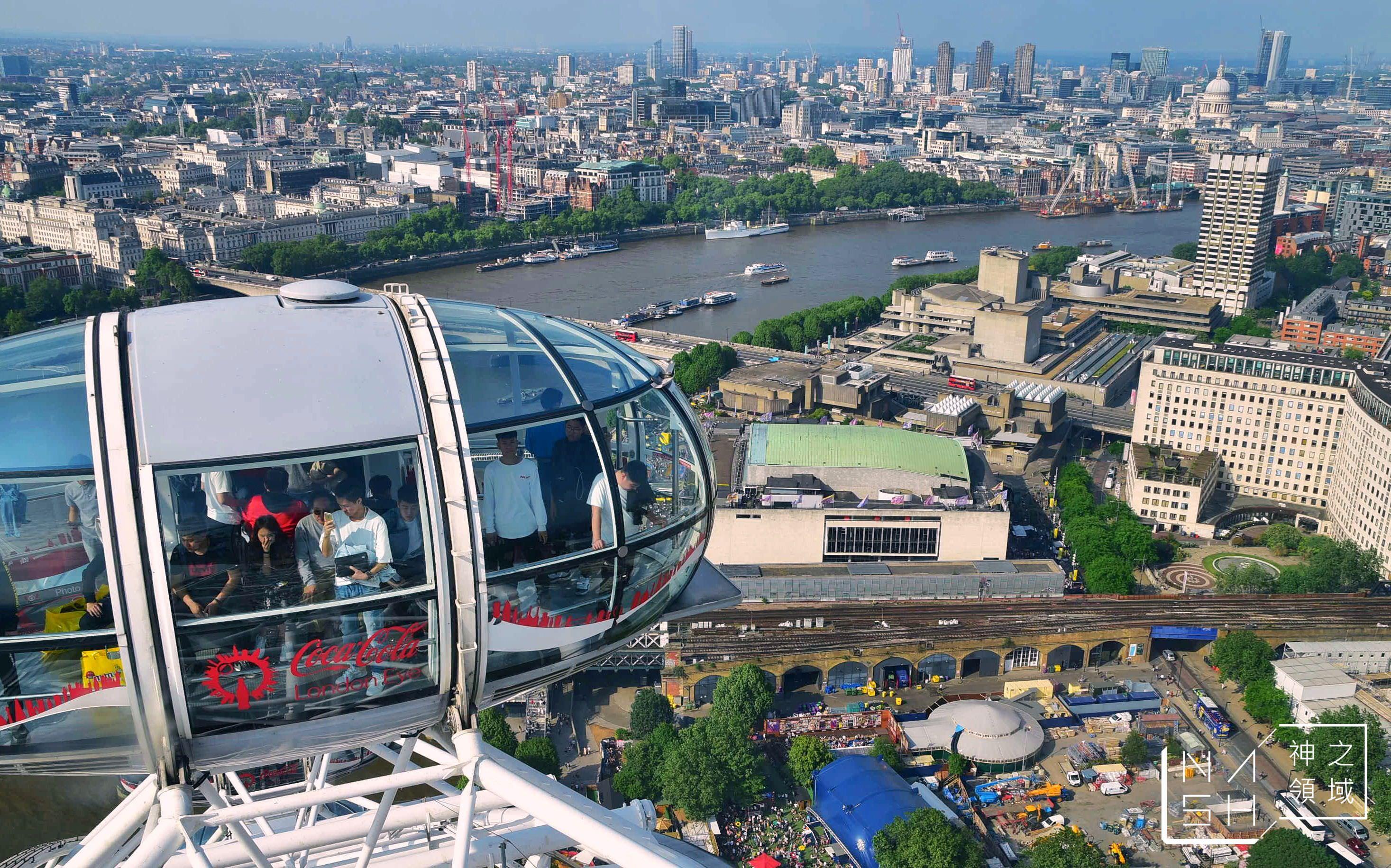 倫敦眼,倫敦眼訂票教學,倫敦眼營業時間,倫敦眼快速通關,倫敦眼交通 @Nash,神之領域