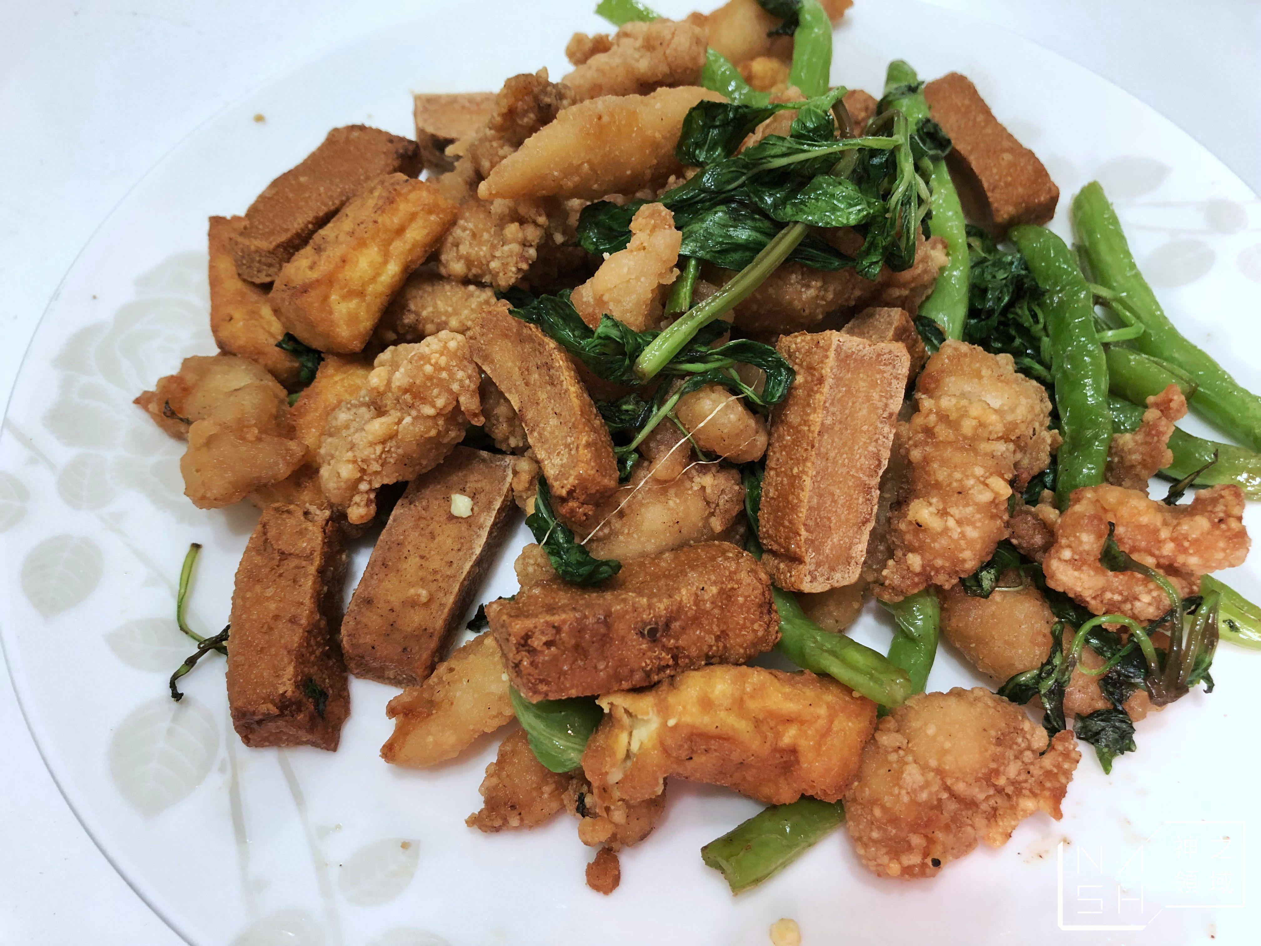 三街巷鹹酥雞,士林捷運站美食,士林鹽酥雞 @Nash,神之領域