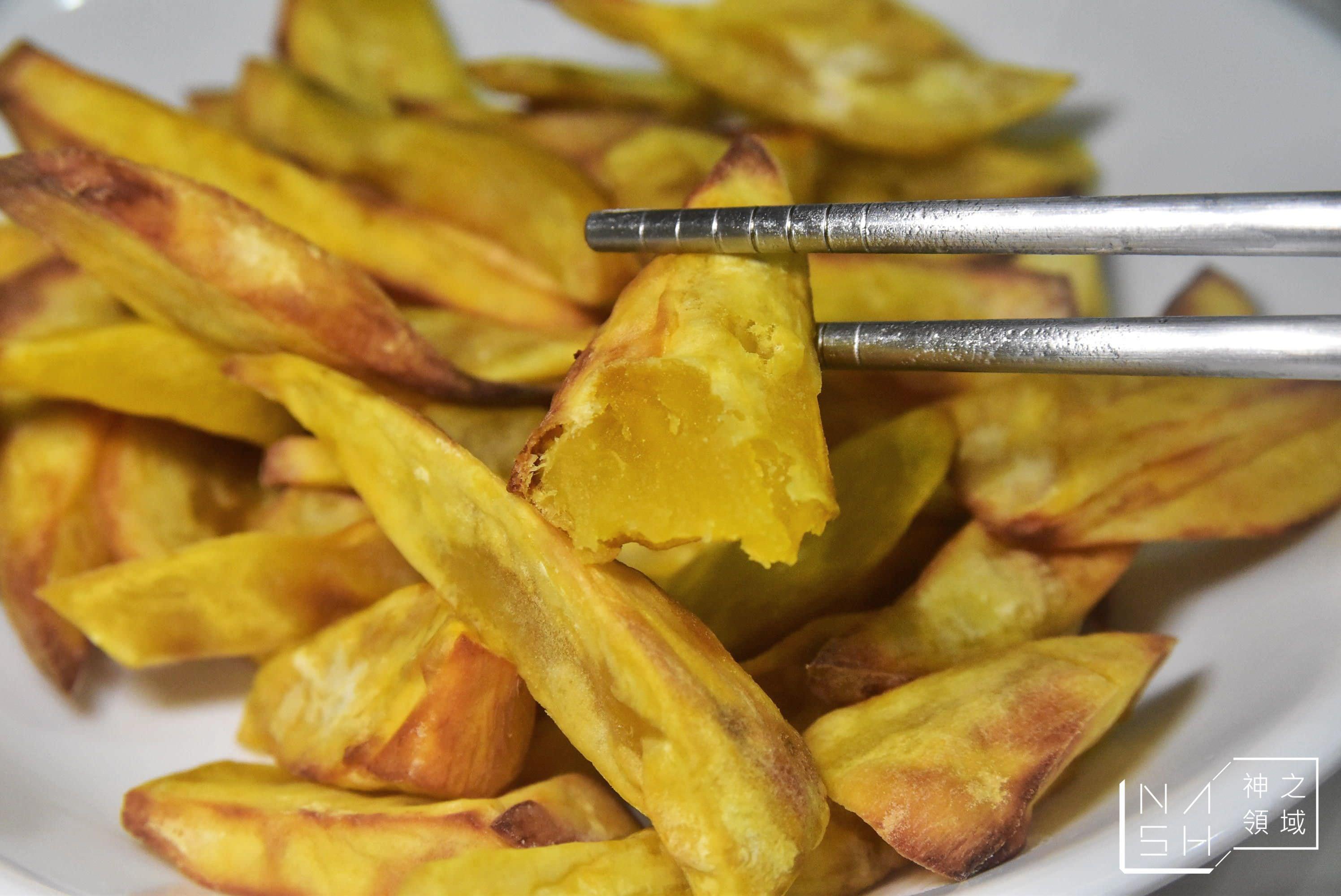 氣炸鍋甘梅地瓜薯條