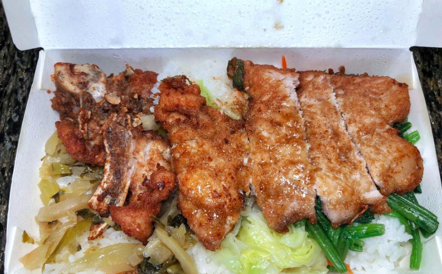高雄排骨飯推薦,海福排骨飯,海福排骨飯菜單,海福排骨飯外帶,海福排骨飯價錢 @Nash,神之領域