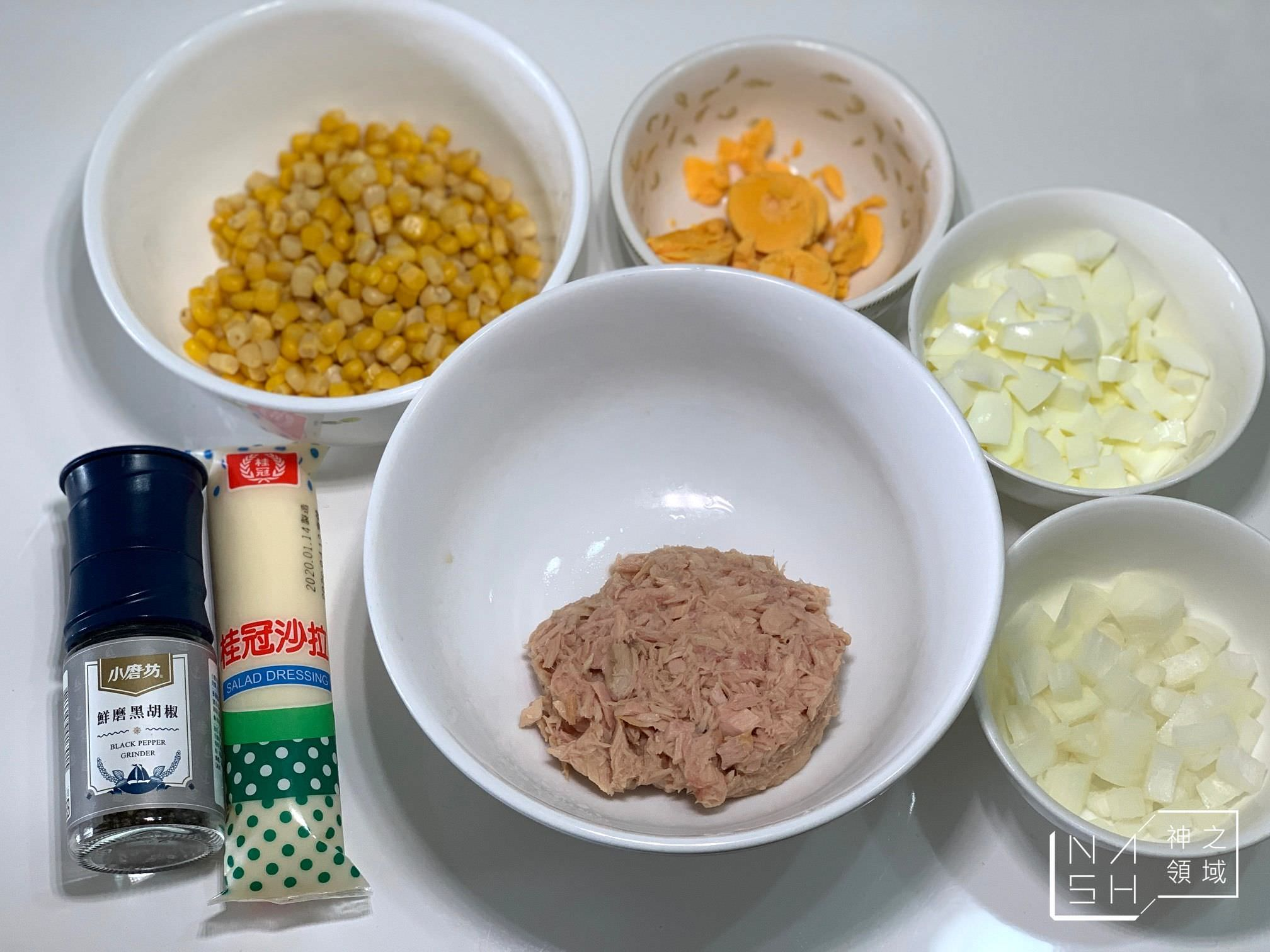 鮪魚蛋沙拉食譜