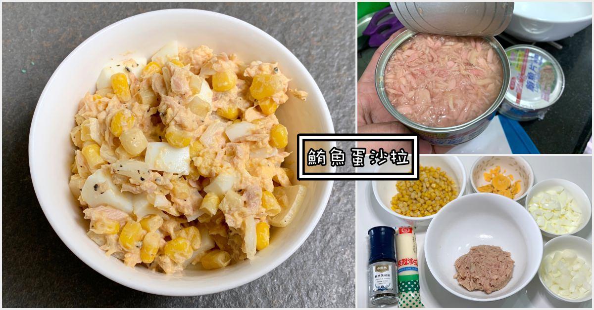 鮪魚蛋沙拉食譜,鮪魚蛋沙拉,鮪魚沙拉 @Nash,神之領域