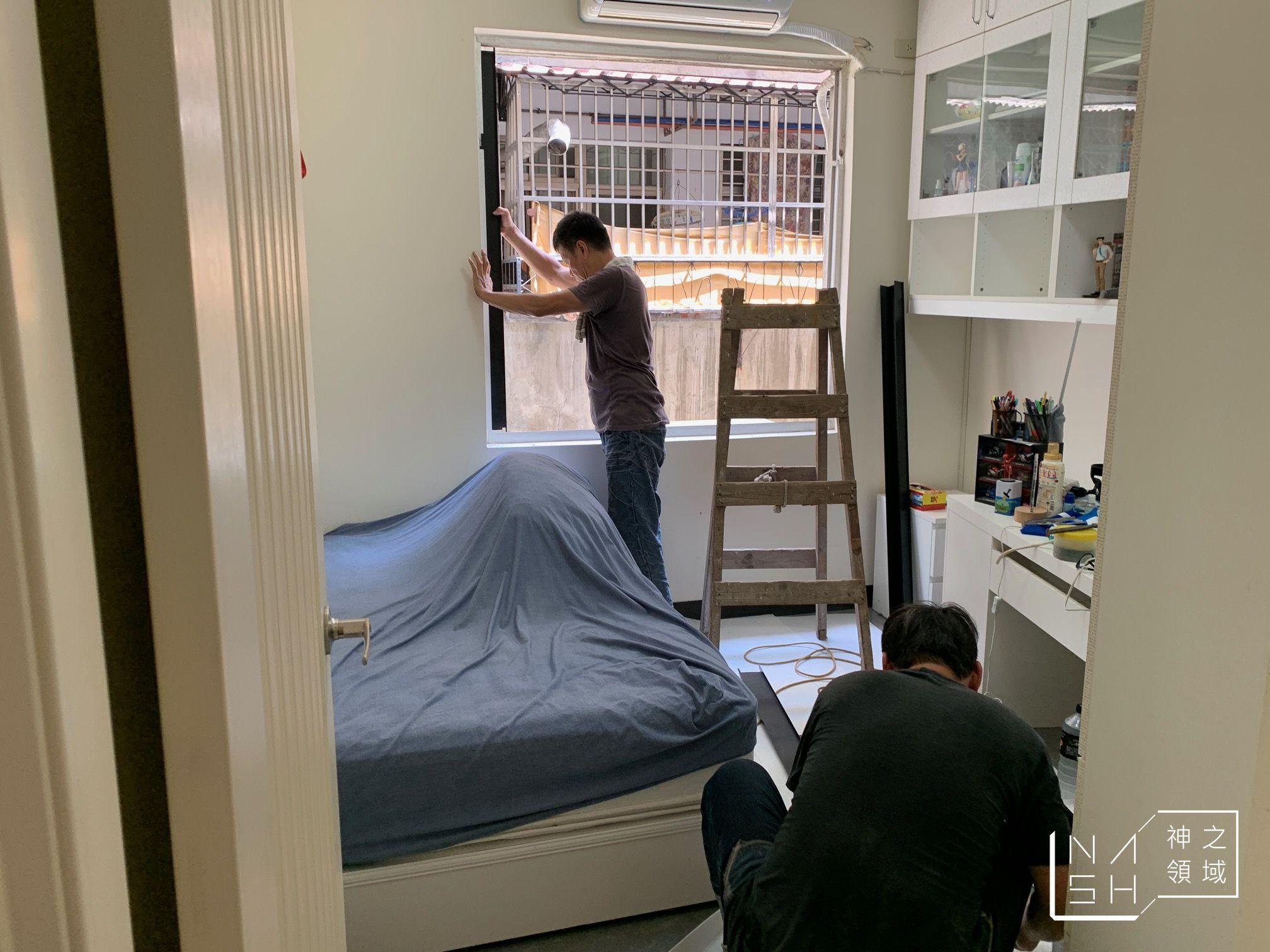 鋁門窗施工