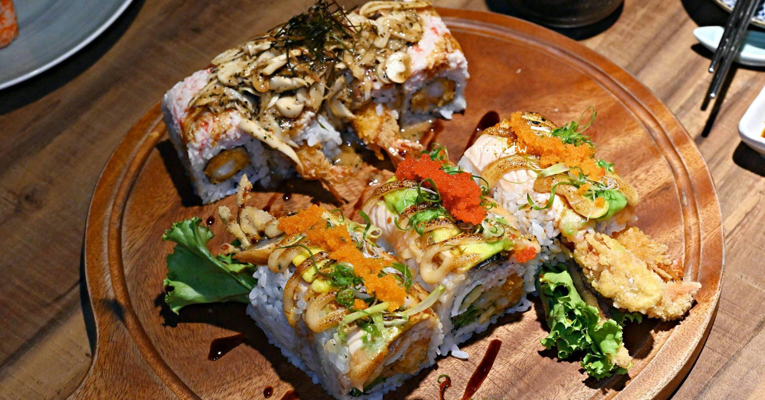 NCIS 德相美式加州壽司|南京復興美食-重口味加州卷吃起來 (菜單)