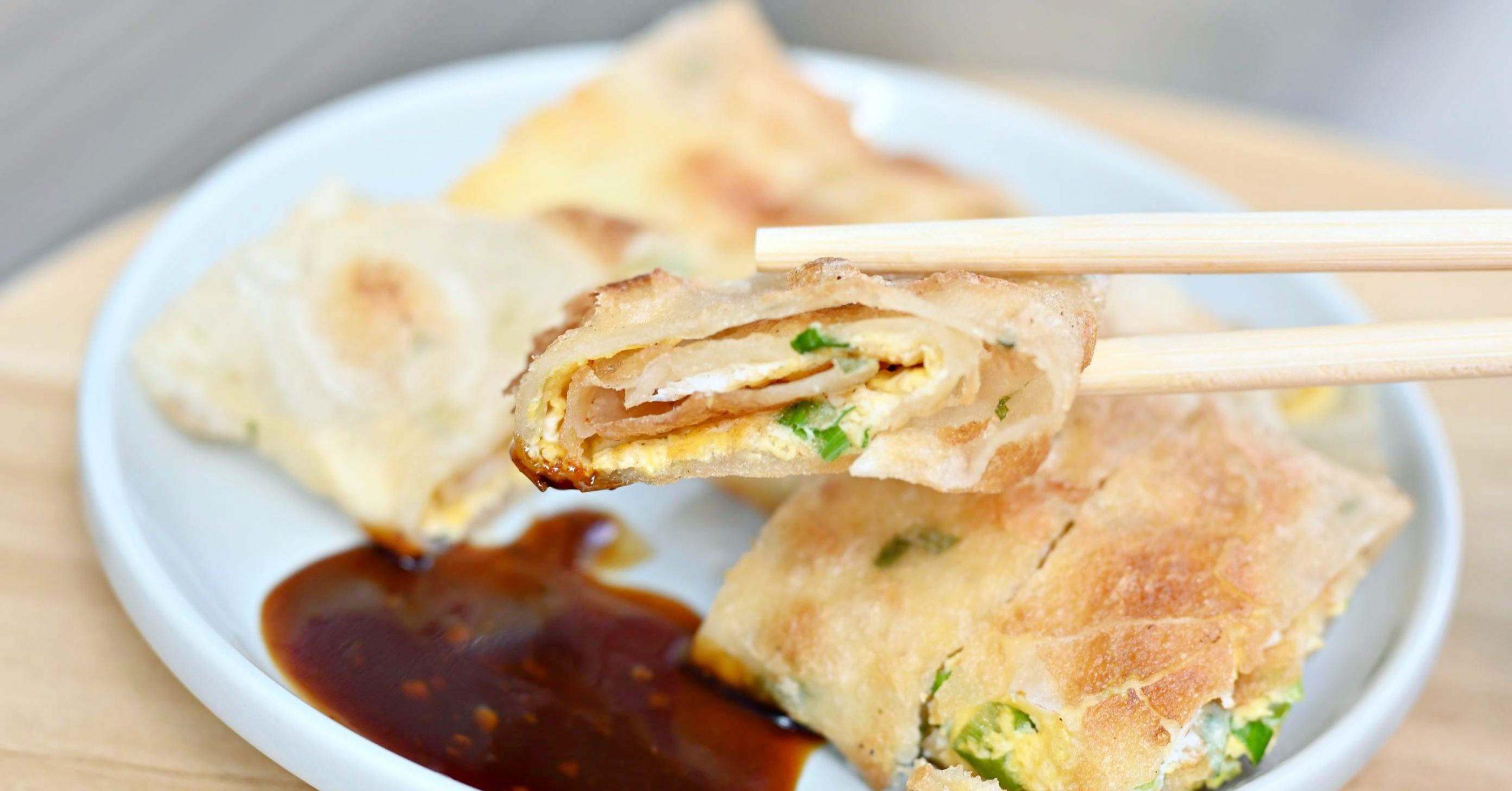【士林美食】晨與食 台北早餐推薦 蛋餅跟吐司都很棒