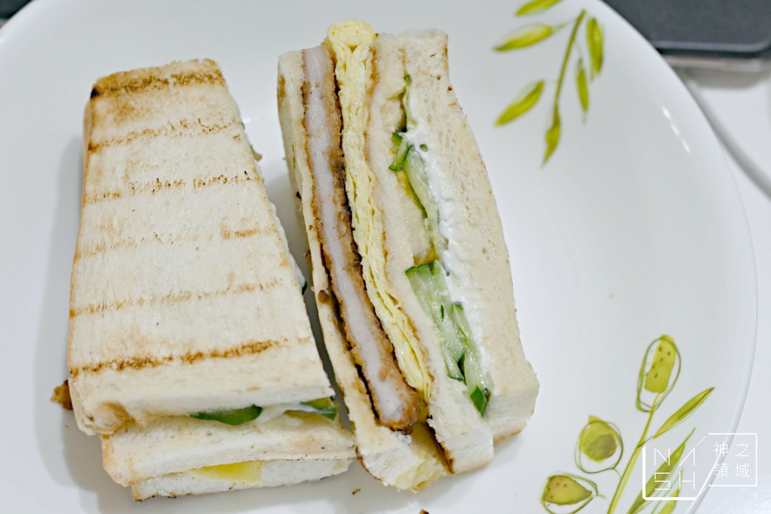 基隆夜市炭烤三明治