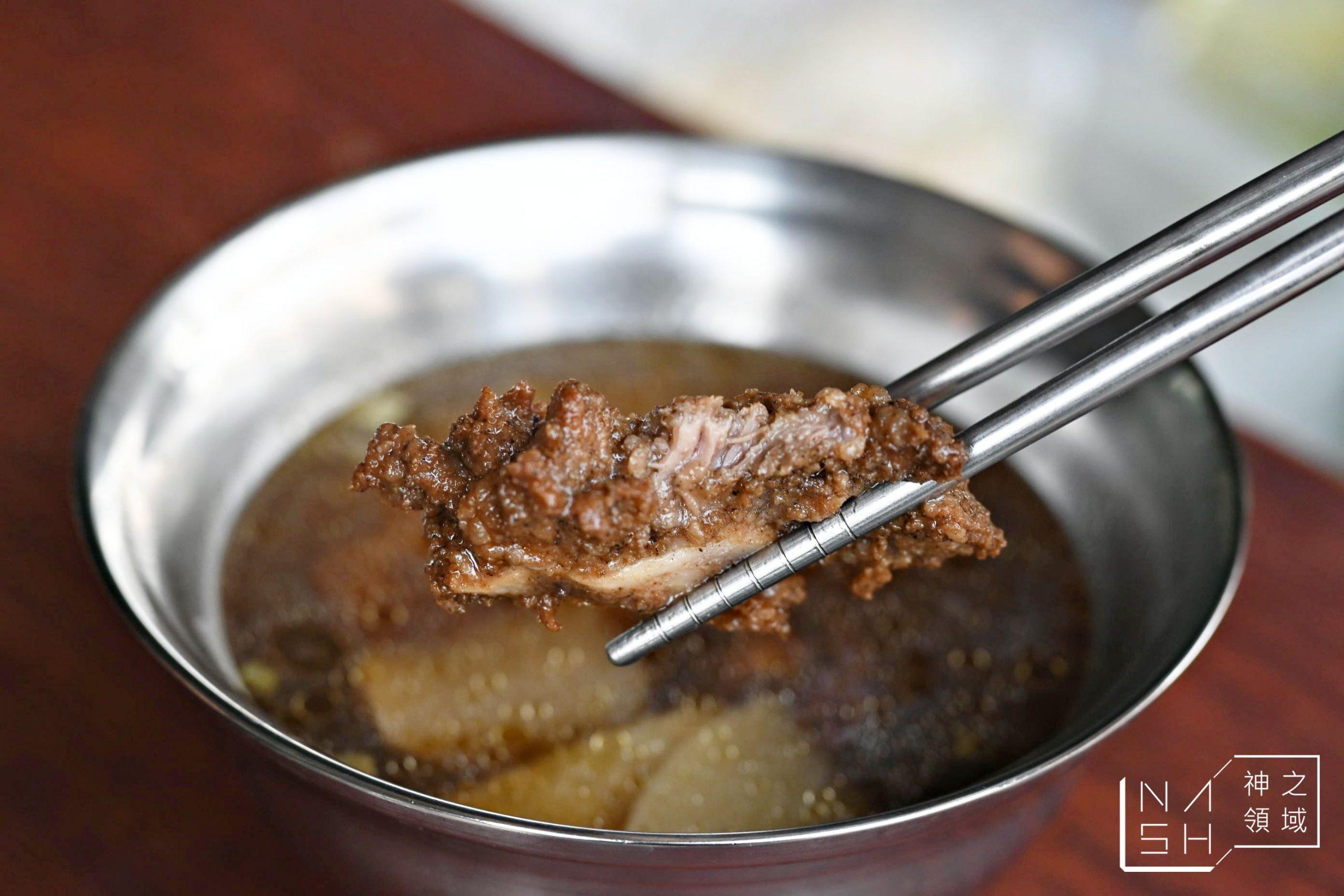 天品排骨酥湯