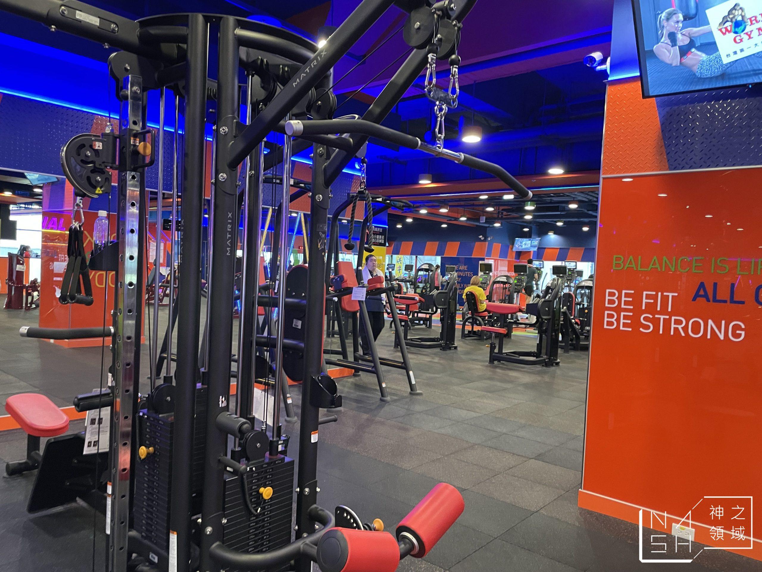 world gym 嘉義民族店