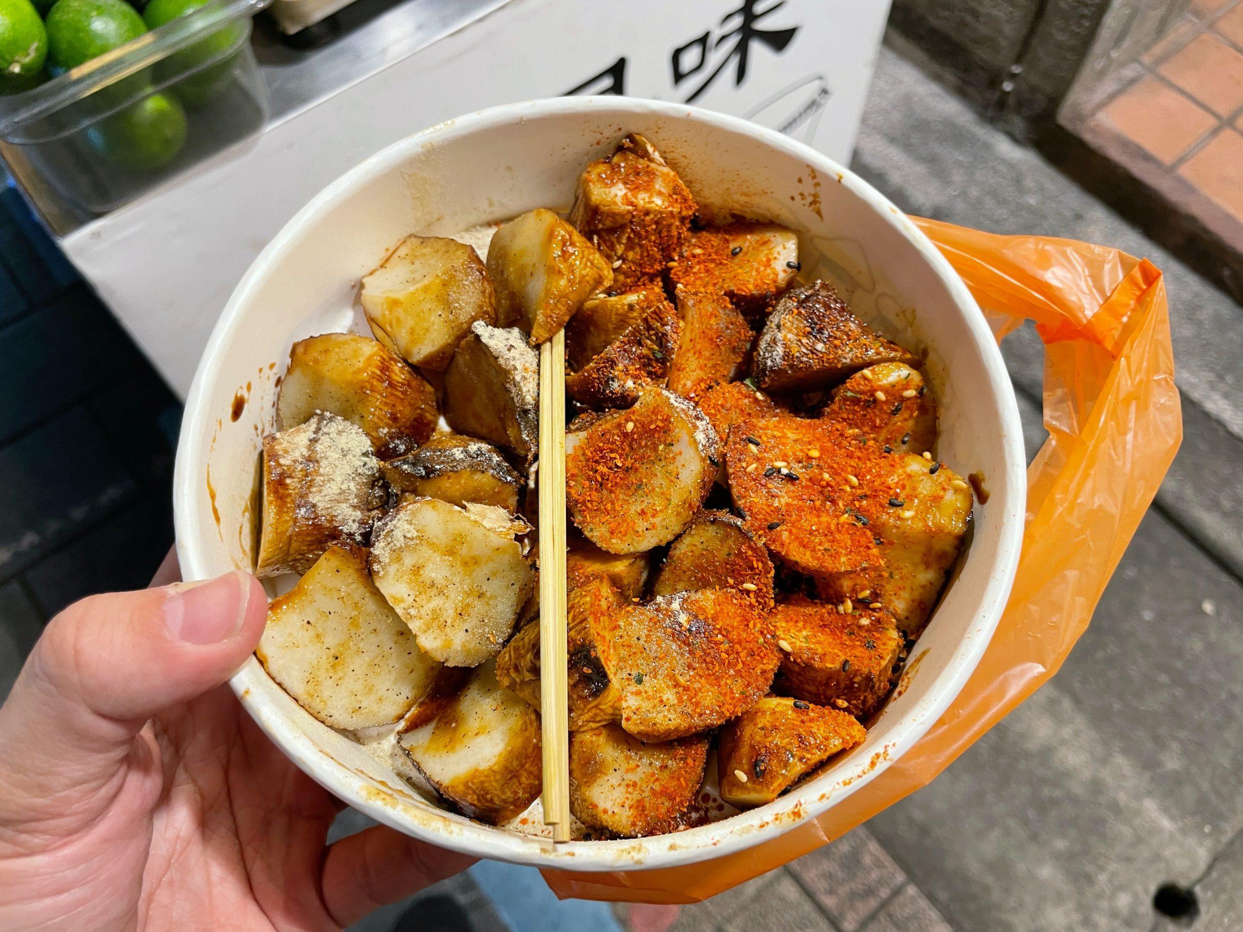 燒烤杏鮑菇